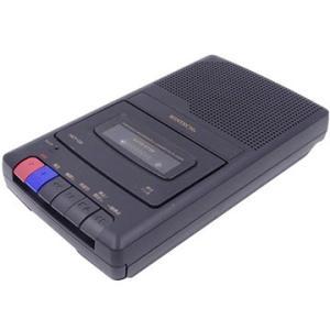 WINTECH ハンドル付ポータブルテープレコーダー HCT-03 ブラック
