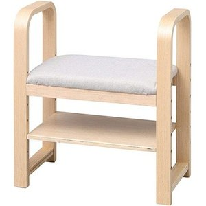アイリスオーヤマ 玄関椅子 ナチュラル GC-55-N|hikaritv