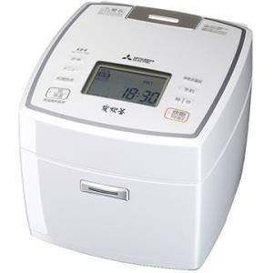 三菱電機 IH炊飯器 備長炭 炭炊釜 5.5合炊き ピュアホワイト NJ-VV109-W