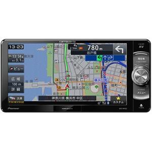 パイオニア 楽ナビ 7V型ワイドメモリーカーナビ/ワンセグ/Bluetooth/DVD AVIC-RW502|hikaritv