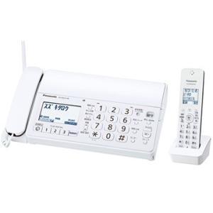 パナソニック デジタルコードレス普通紙ファクス(子機1台)(ホワイト) KX-PD215DL-W|hikaritv
