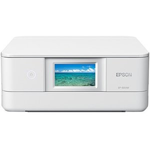 EPSON A4インクジェット複合機 Colorio ホワイト EP-881AW|hikaritv