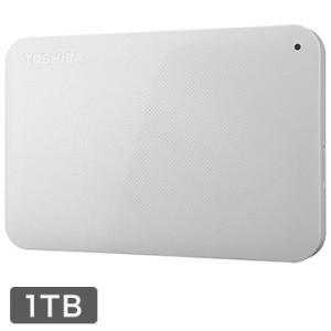 東芝 ポータブルHDD CANVIO BASICS 1TB ホワイト HD-AC10TW|hikaritv