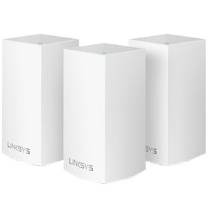 LINKSYS Velop デュアルバンド メッシュWi-Fi 無線ルーター 3個パック WHW01...