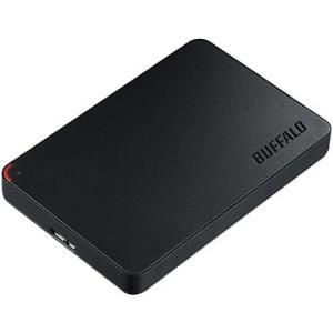バッファロー USB3.1(Gen1)/USB3.0用 ポータブルHDD 1TB ブラック HD-N...