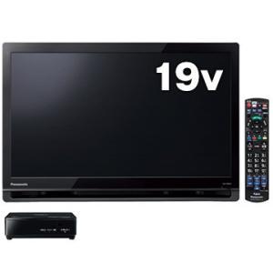 パナソニック 19V型ポータブル液晶テレビ ブラック プライベートビエラ UN-19F8-K
