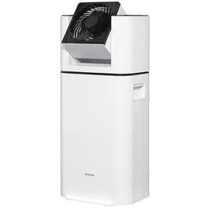 アイリス サーキュレーター衣類乾燥除湿機 デシカント式 ホワイト IJD-I50