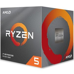 AMD CPU Ryzen 5 3600X クーラー付 (6C12T3.8GHz95W) 100-1...