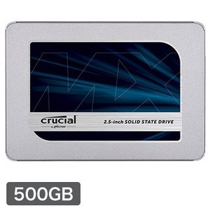 Crucial 内蔵SSD MX500 500GB SATA 2.5インチ 7mm (with 9....