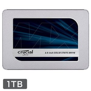 Crucial 内蔵SSD MX500 1TB SATA 2.5インチ 7mm (with 9.5m...