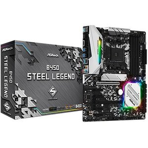 ASRock マザーボード B450 Steel Legend B450-STEEL-LEGEND
