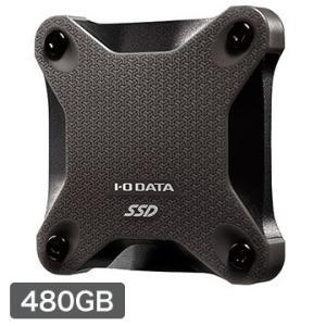 IODATA USB 3.1 Gen 1対応ポータブルSSD 480GB 黒 SSPH-UT480K