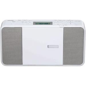 東芝 CDラジオ ホワイト TY-C251-W