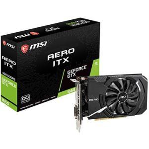 MSI グラフィックボード GeForce GTX 1650 AERO ITX 4G OC GeForceGTX1650AEROITX4GOC