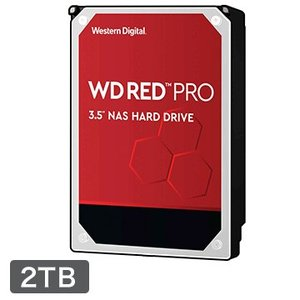 WESTERN DIGITAL ■WD Red Pro シリーズ NAS向けHDD 3.5インチ 2...