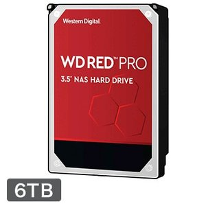 WESTERN DIGITAL ■WD Red Pro シリーズ NAS向けHDD 3.5インチ 6...