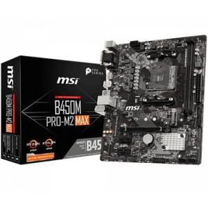 MSI マザーボード AMD B450チップセット PRO-M2 MAX B450M-PRO-M2-MAX