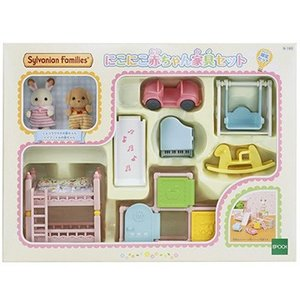 epoqe SF セ-193にこにこ赤ちゃん家具セット[シルバニアファミリー]