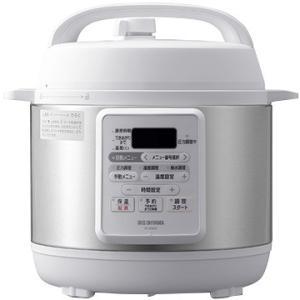 アイリスオーヤマ 電気圧力鍋 3.0L ホワイト PC-EMA3-W