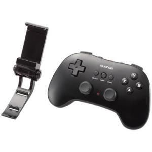 エレコム スマホ用Bluetoothゲームパッド/12ボタン/ブラック JCVRP01BK