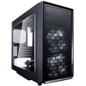 Fractal Design ■ミニタワーPCケース Focus G Mini Black FD-CA-FOCUS-MINI-BK-W|ひかりTVショッピング
