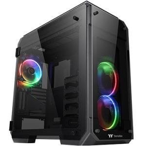 Thermaltake ■フルタワーPCケース VIEW 71 TG RGB CA-1I7-00F1WN-01|ひかりTVショッピング
