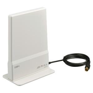 サン電子 ■地上デジタル用室内アンテナ アイボリーホワイト IDA-7C-IW