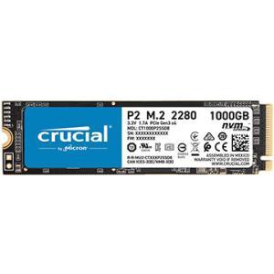 Crucial 内蔵SSD P2 1000GB 3D NAND NVMe PCIe M.2 CT1000P2SSD8JP