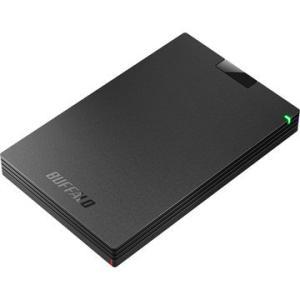 BUFFALO USB3.1(Gen.1)対応 ポータブルHDD ブラック 1TB HD-PCG1.0U3-BBA