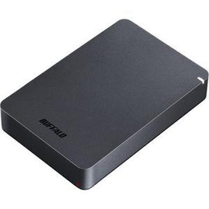 BUFFALO USB3.1(Gen1) 耐衝撃ポータブルHDD 4TB ブラック HD-PGF4....