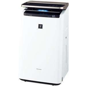 シャープ 加湿空気清浄機 プレミアムモデル プラズマクラスターNEXT ホワイト KI-HP100-...