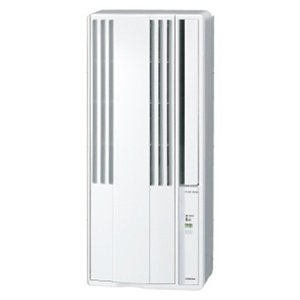 コロナ ウィンドエアコン(窓用エアコン) 冷房専用 おもに4~6畳用 CW-1619-WS