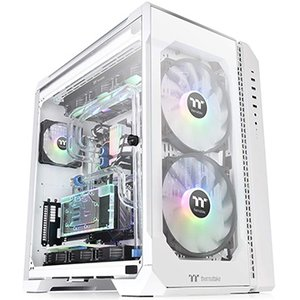 Thermaltake フルタワー型PCケース VIEW 51 TG ARGB -Snow Edit...
