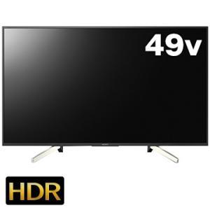 SONY BRAVIA 49V型液晶TV X7500Fシリーズ ブラック KJ-49X7500F
