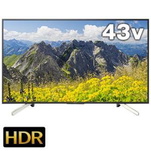 SONY BRAVIA 43V型液晶TV X7500Fシリーズ ブラック KJ-43X7500F