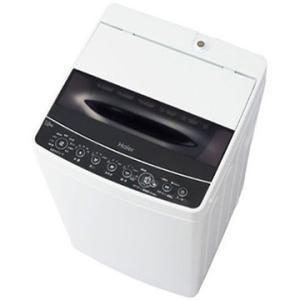 ハイアール 全自動洗濯機 5.5kg ブラック 【配送のみ設置なし 軒先渡し】 JW-C55D-K