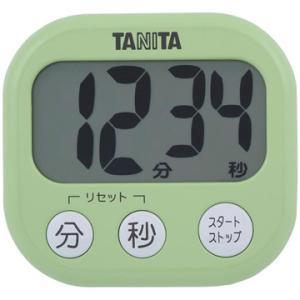 タニタ TANITA でか見えタイマー ピスタチオグリーン TD-384-GR