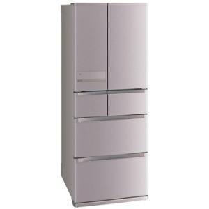 三菱電機 6ドア冷蔵庫(470L) JXシリーズ ローズゴールド【大型商品(設置工事可)】 MR-JX47LTC-N