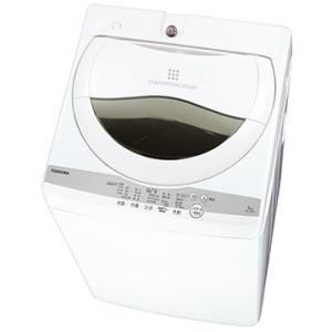 TOSHIBA 全自動洗濯機 5kg ZABOON グランホワイト【大型商品(設置工事可)】 AW-...