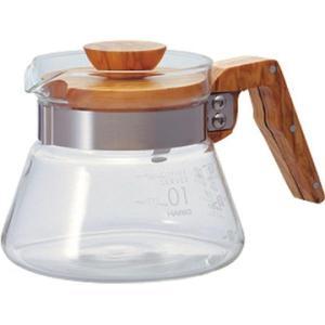 HARIO ハリオ コーヒーサーバー400オリーブウッド VCWN-40-OV