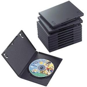 エレコム DVDトールケース CCD-DVD03BK