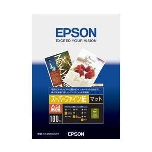 EPSON スーパーファイン紙 (A3ノビ/100枚) KA3N100SFR