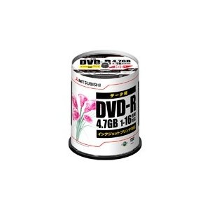 Verbatim DVD-R 4.7GB 16倍速 100枚スピンドル ワイド印刷 DHR47JPP...
