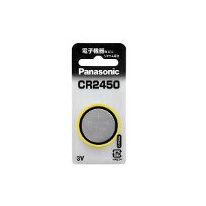 パナソニック コイン形リチウム電池 CR2450 CR-2450|hikaritv