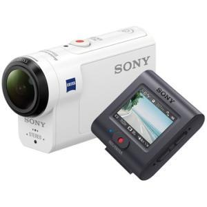SONY デジタル4Kカム アクションカム ライブビューリモコン付 FDR-X3000R