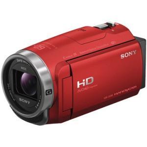 SONY デジタルHDカム Handycam CX680 レッド HDR-CX680/R