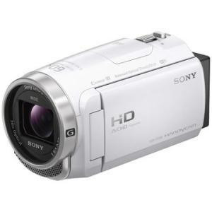 SONY デジタルHDカム Handycam CX680 ホワイト HDR-CX680/W