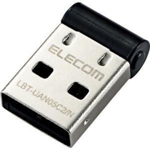 ELECOM Bluetooth USBアダプタ/PC用/V4/CL2/ブラック LBT-UAN05...