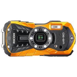 RICOH 防水デジタルカメラ WG-50 (オレンジ) WG-50OR