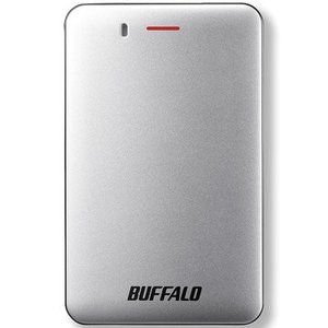 バッファロー USB3.1(Gen1) 小型ポータブルSSD 120GB シルバー SSD-PM12...